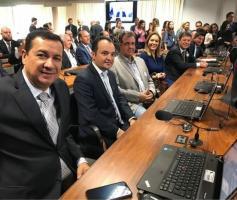 Hildo do Candango marca presença em audiência pública sobre criação da Região Metropolitana do DF