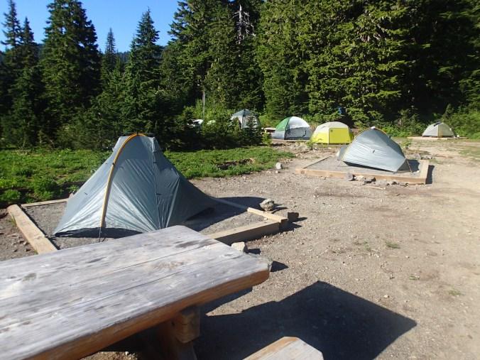 Mowich Lake Camp