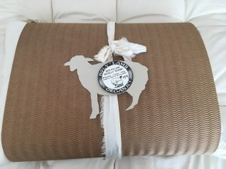 "Organic wool ""wooly down"" pillow - $149"