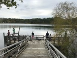 kids fishing off dock