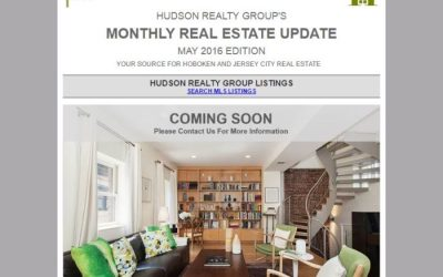 Hudson Realty Group Update – May 2016 Edition  |  Hoboken and Jersey City Real Estate