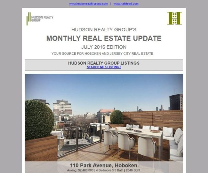 July 2016 Real Estate Newsletter