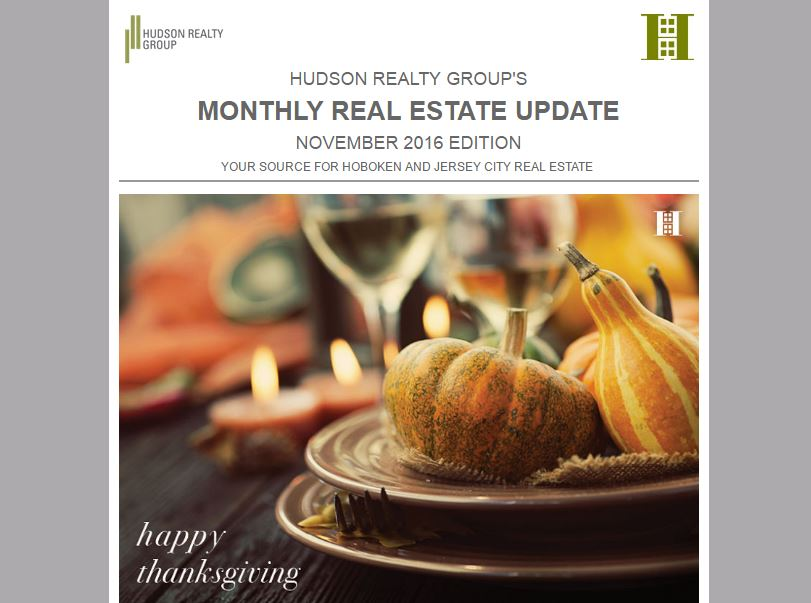 November 2016 Real Estate Newsletter