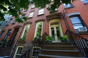Townhome for Sale, Brick Rowhouse Townhome, Townhouse for Sale, Uptown Hoboken, Uptown Garden Street, Tree-lined Street