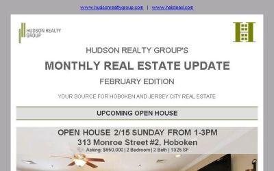 Hudson Realty Group Update – February 2015 Edition  |  Hoboken and Jersey City Real Estate