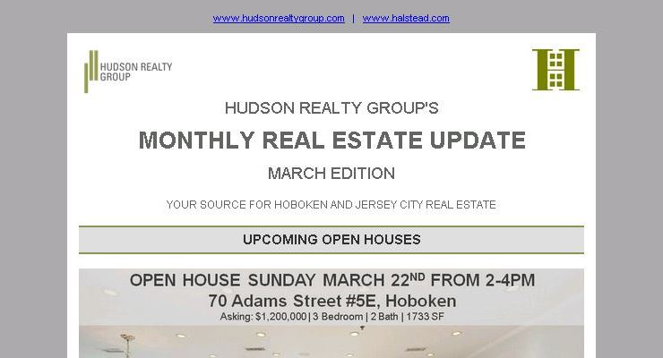 Hudson Realty Group Update – March 2015 Edition  |  Hoboken and Jersey City Real Estate