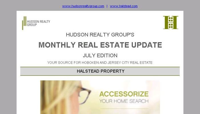 Hudson Realty Group Update – July 2015 Edition  |  Hoboken and Jersey City Real Estate