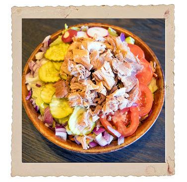 Picture of Salad with Pork