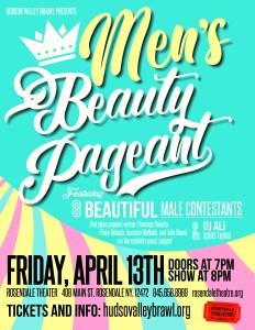 Men's Beauty Pageant Flier 2018