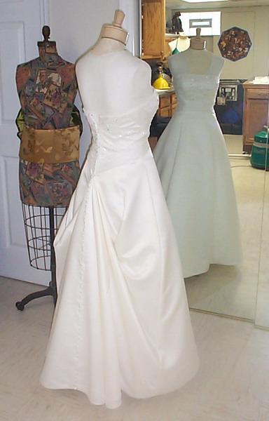 Wedding Dress Bustle Hudson Valley Ceremonies