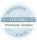 Borrowed-Blue-wedding-badge