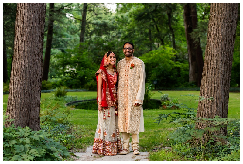 Manisha and Sridharan, Montgomery Place