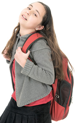 what causes scoliosis - backpacks & scoliosis