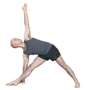 yoga for scoliosis_Triangle -Trikonasana