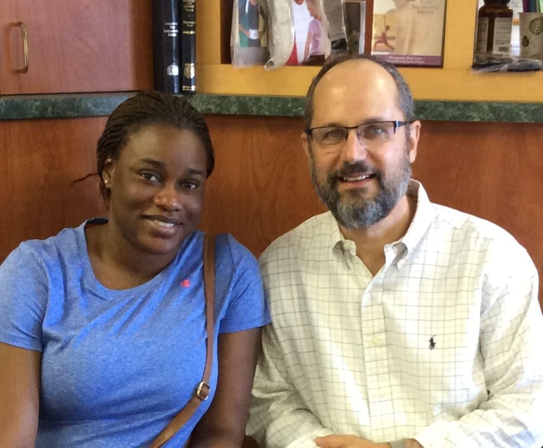 Nigerian patient testimonial scoliosis treatment