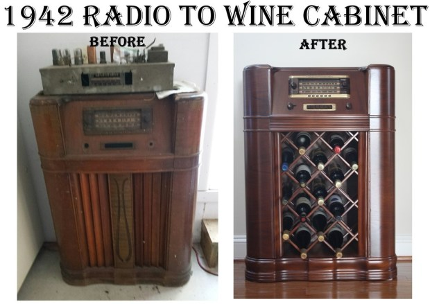 1942 Radio to Wine Cabinet