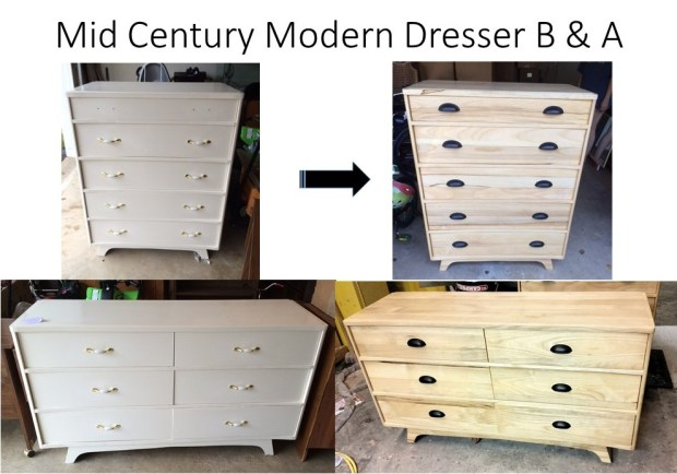 Mid Century Modern Dresser B & A