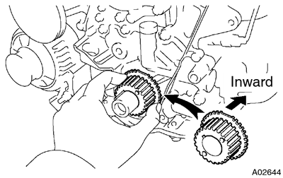 Toyota Supra JZA80 / 2JZ-GE Engine / Timing belt installation