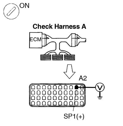 Toyota Supra JZA80 / Diagnostics / Circuit inspection 2JZ