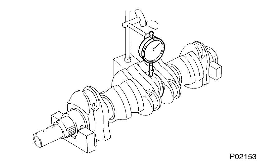 Toyota Supra JZA80 / 2JZ-GE Engine / Cylinder block inspection