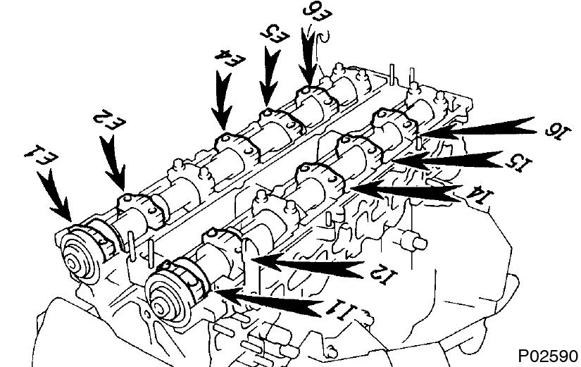 Toyota Supra JZA80 / 2JZ-GE Engine / Cylinder head