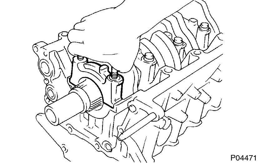 Toyota Supra JZA80 / 2JZ-GE Engine / Cylinder block