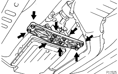 Toyota Supra JZA80 / 2JZ-GE Engine / Engine unit removal