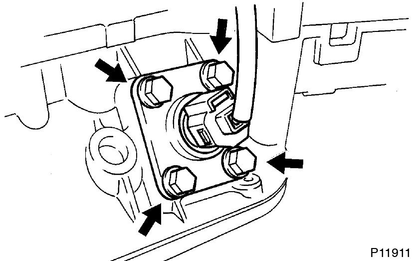 Toyota Supra JZA80 / Lubrication / Oil pump removal