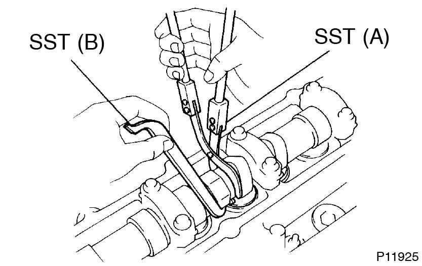 Toyota Supra JZA80 / 2JZ-GE Engine / Valve clearance
