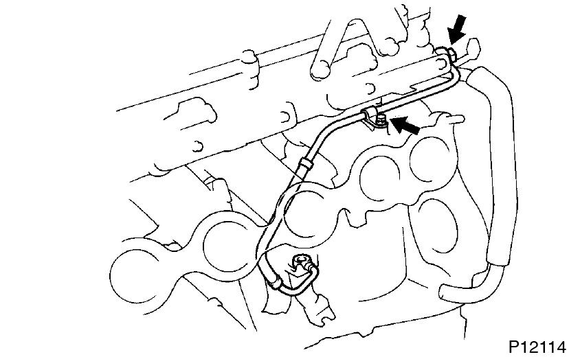 Toyota Supra JZA80 / 2JZ-GTE Engine / Cylinder head