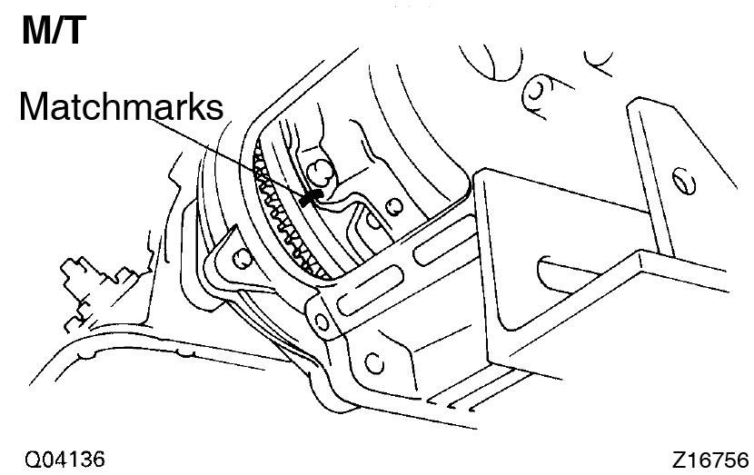 Toyota Supra JZA80 / 2JZ-GTE Engine / Engine unit removal
