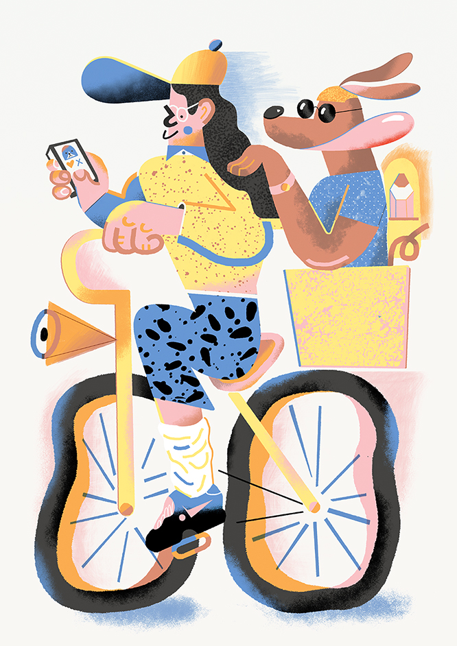 Karol Banach illustrations