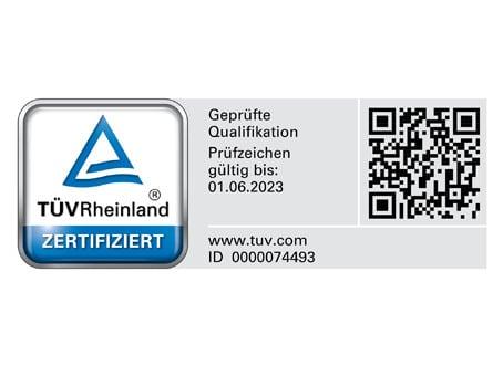 TÜV Siegel Notfallmanagement