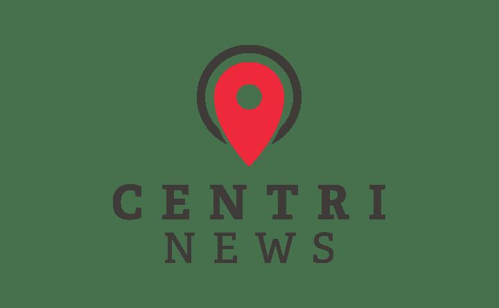 Huebris » centriNEWS Logo Design