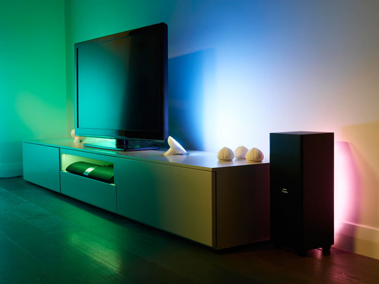 6 Gorgeous Philips Hue Light Set Ups Hue Home Lighting