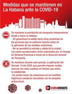 Reapertura en La Habana Fin al toque de queda, pero las multas siguen (2)