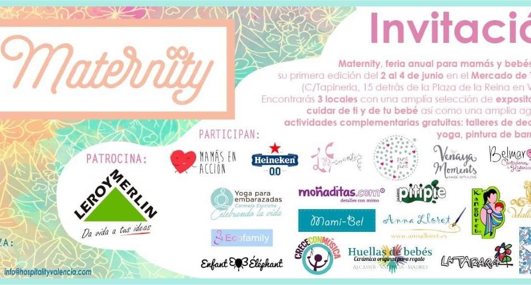 Todos los expositores de Maternity os invitamos al evento