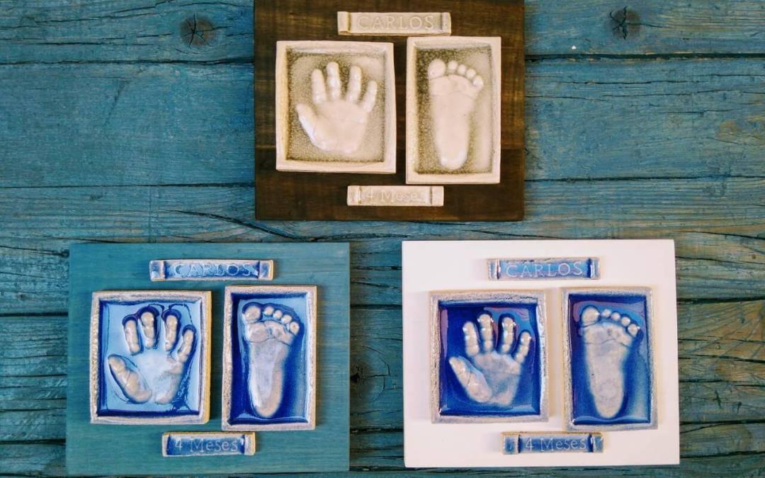 Las Huellas de tu bebé,  un regalo entrañable para los abuelos