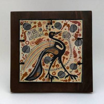 socarrat artesano pavo real