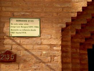 Solar donde paso su infancia Jorge Luis Borges