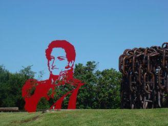 Monumento a Juan Manuel de Rosas en la Vuelta de Obligado
