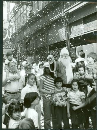 Papá Noel en Harrods