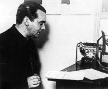 Lorca recitando poemas en Radio Splendid