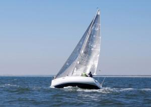 Las condiciones para navegar a vela en Punta Umbría son excelentes.