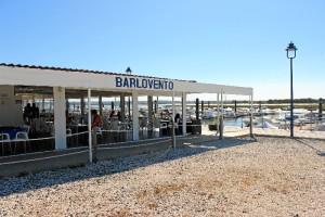 En este enclave se encuentra el restaurante Barlovento.