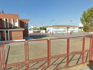 Colegio Moreno Chacón, donde estaba escolarizado el niño
