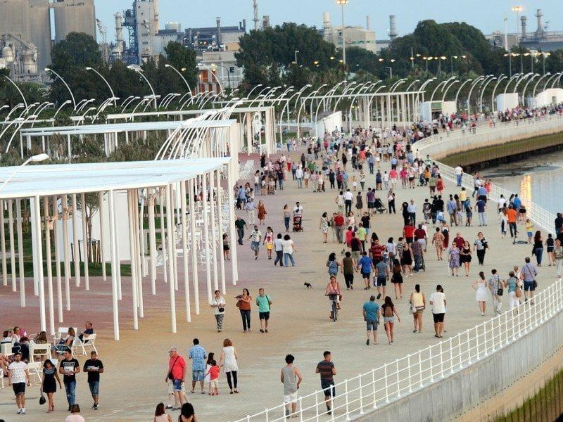 Los onubenses ya disfrutan de este magnífico espacio para Huelva