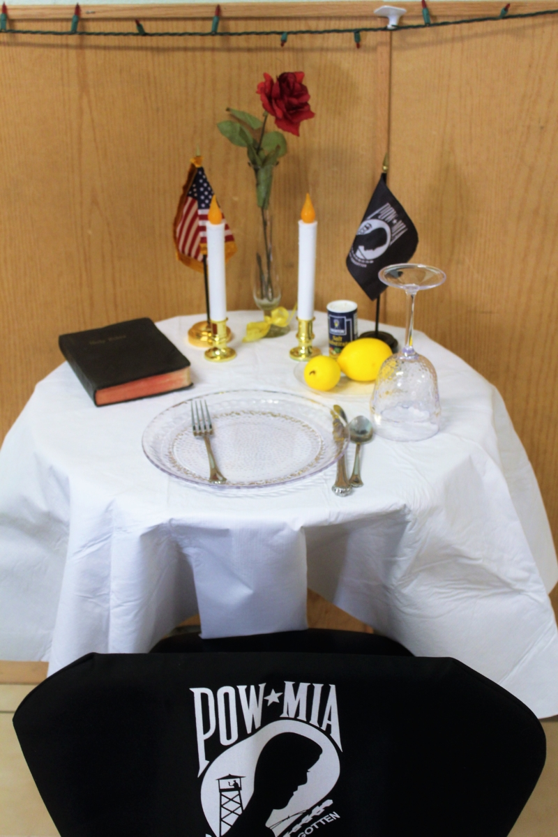 The POWMIA Table What do the symbols mean  The World Journal
