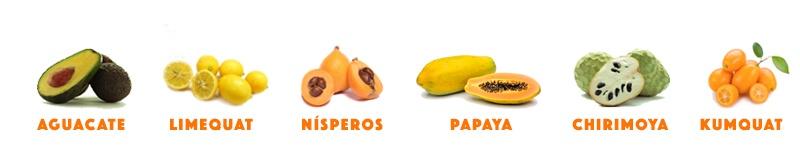 frutas en el surtido