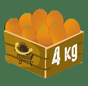 peso caja kumquats 2kg